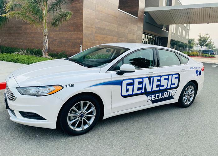 genesis security car